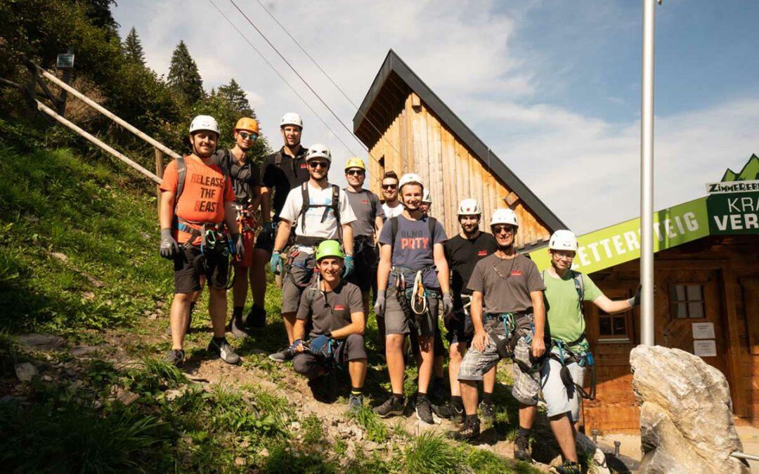 Herbstevent Klettersteig