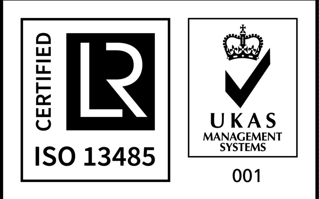 Zertifizierung ISO13485